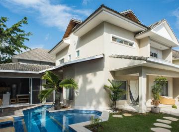 laf construction management construção casa premium fachada pintura textura