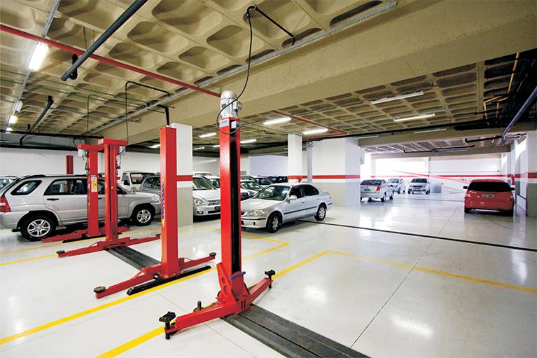 laf-construction-construcao-predio-comercial-americas-recreio-estacionamento-instalacao-elevadores