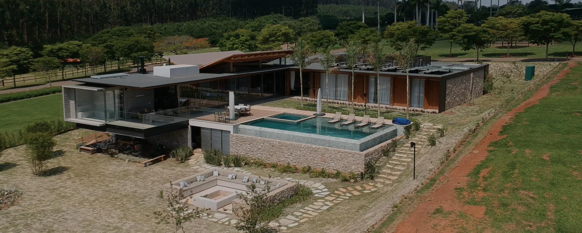 construção moradia luxo hotel fasano fazenda boa vista
